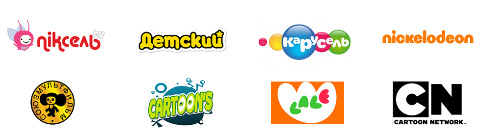 Cartoon channels